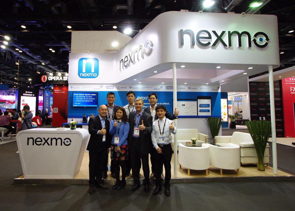 Nexmo booth