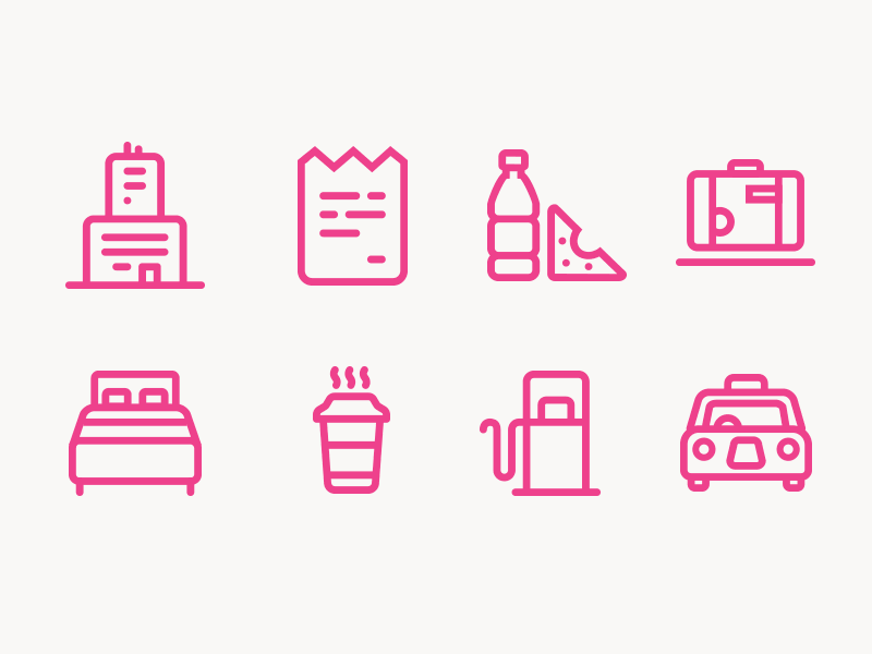 Tax Tracker icon set